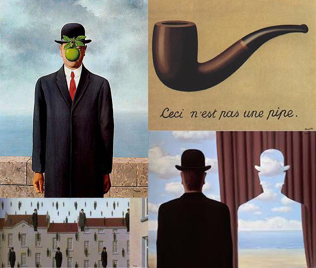 یادداشتی بر نقاشی «این یک چپق نیست» اثر رنه مگریت/ مازیار چابک